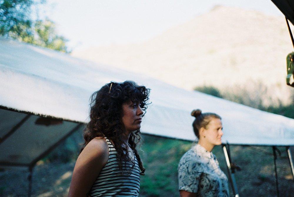 Curls Photo Field Trip California Portrait Analogue Photographer