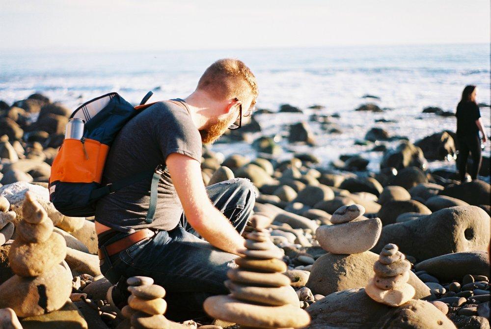 Pebble Towers Photo Field Trip California Lifestyle Analogue Photographer
