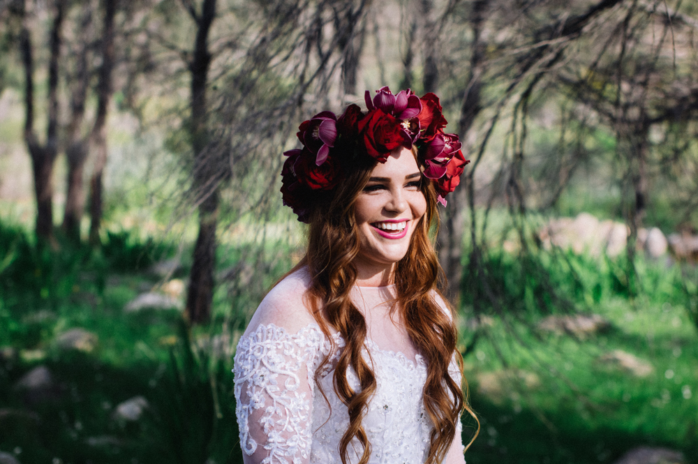 1 Poppies in Posies Flower Crown Creative Photography