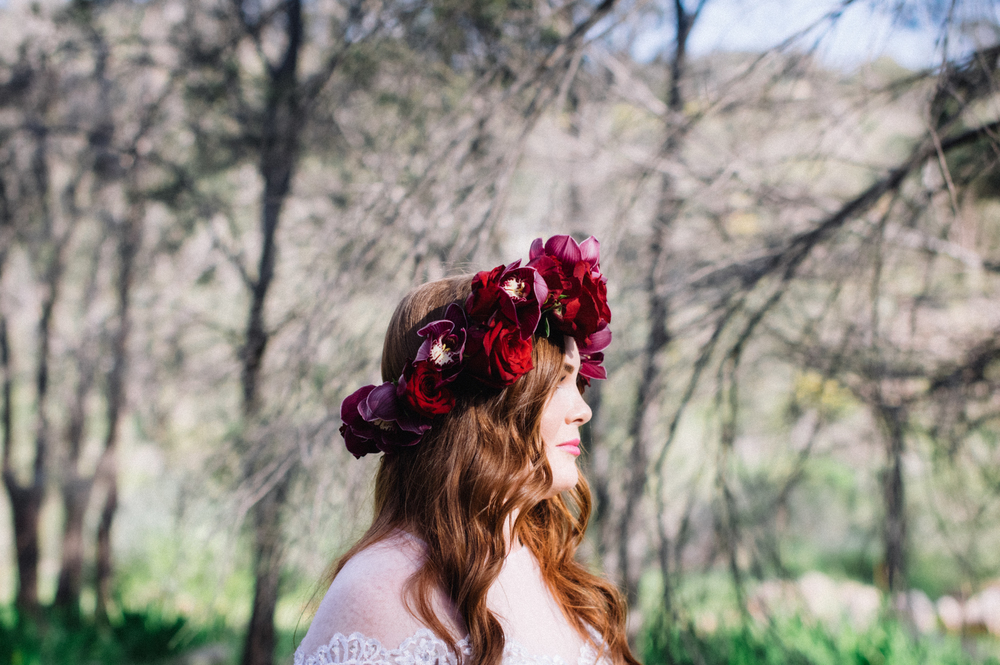 2 Poppies in Posies Flower Crown Creative Photography