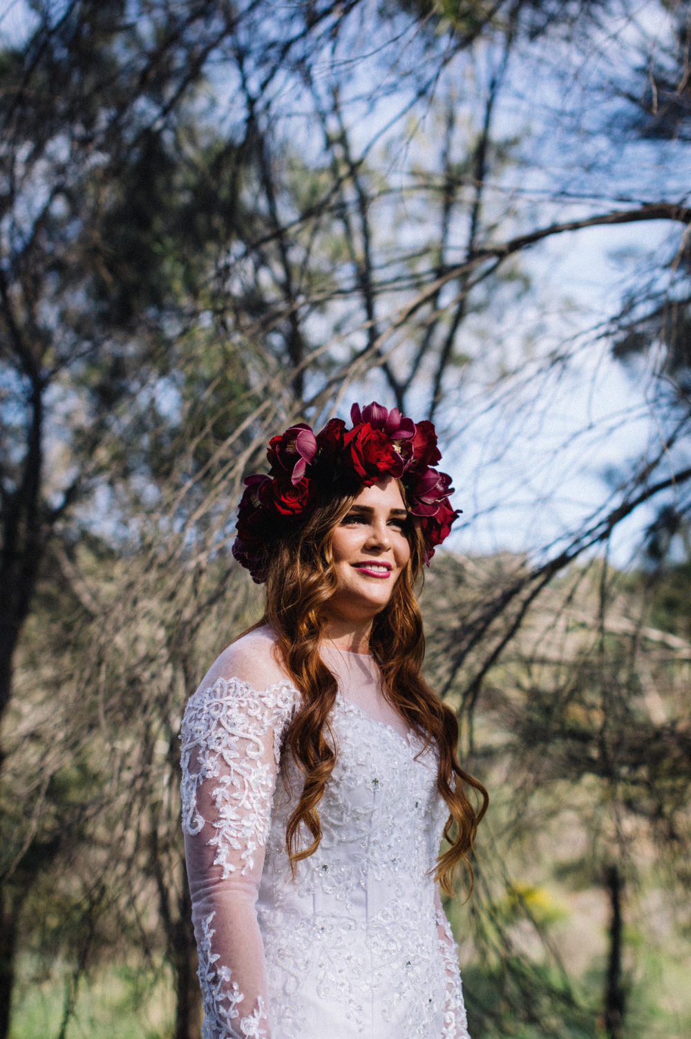 3 Poppies in Posies Flower Crown Creative Photography