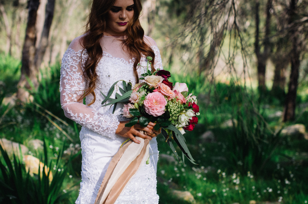 4 Poppies in Posies Bridal Bouquet Creative Photography
