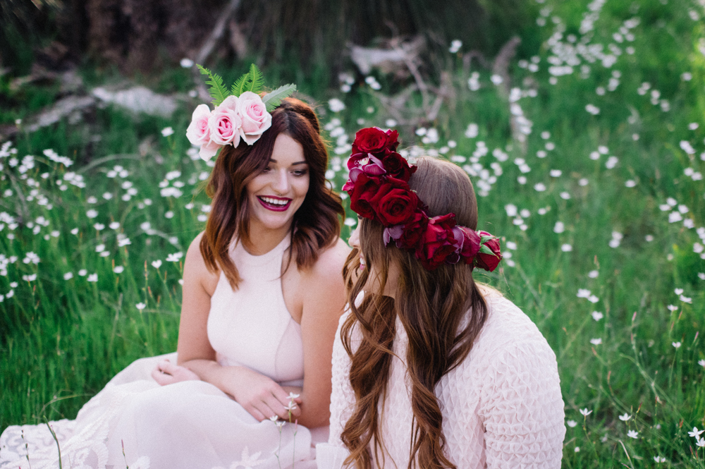 22 Poppies in Posies Flower Crown Creative Business Photography