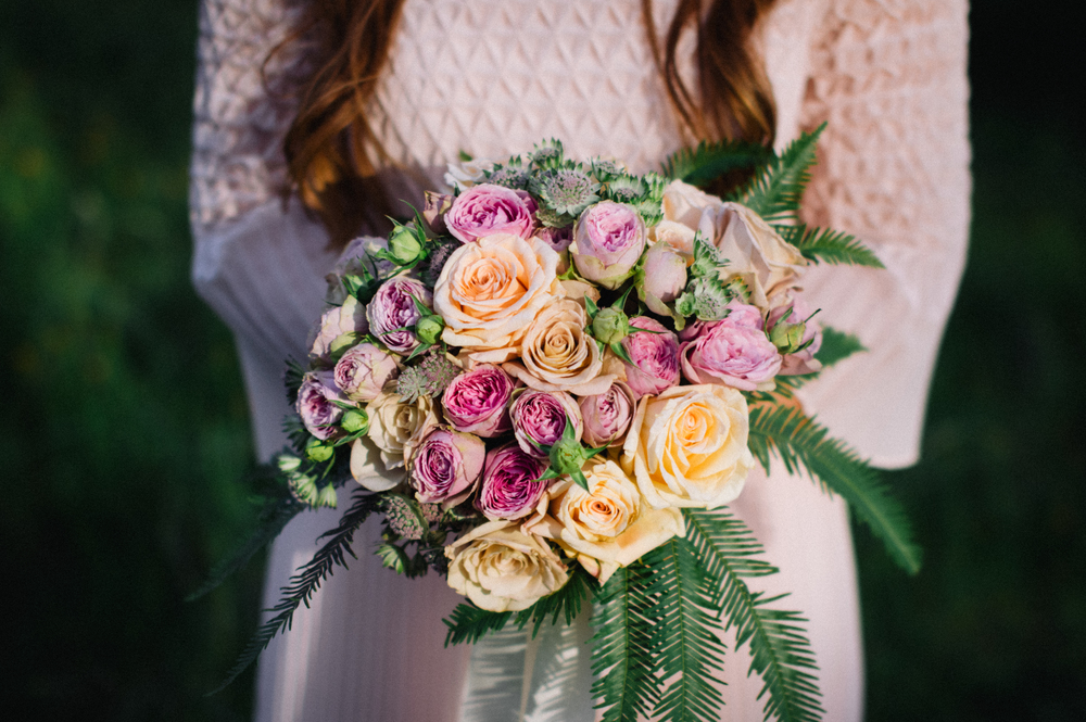 25 Poppies in Posies Bridal Bouquet Creative Business Photography
