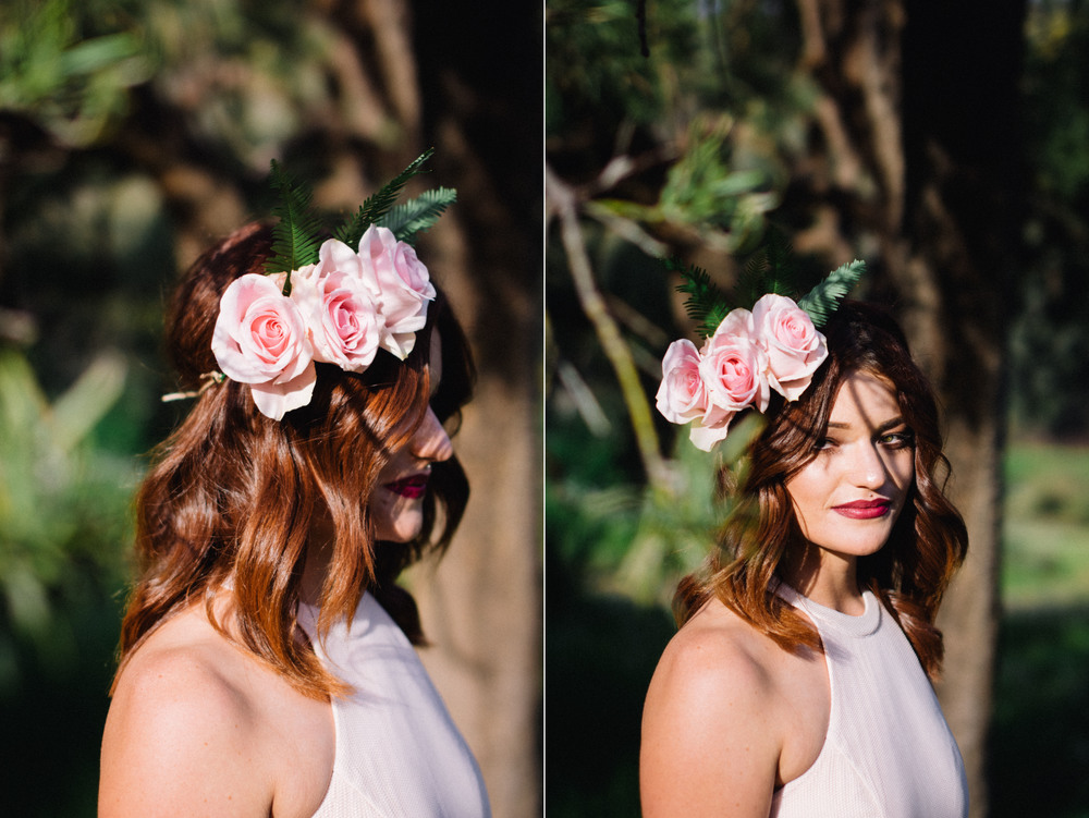 20 Poppies in Posies Floral Headpiece Creative Business Photography