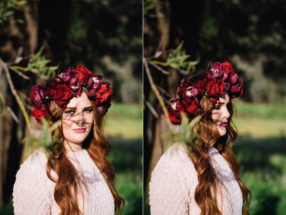 21 Poppies in Posies Flower Crown Creative Business Photography