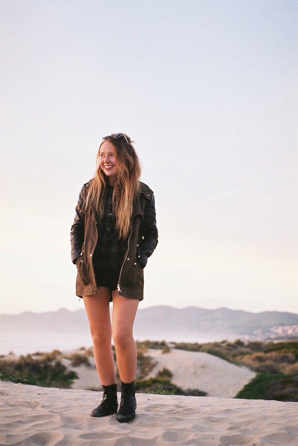 Izzy Pismo Beach California Analogue Travel Photographer