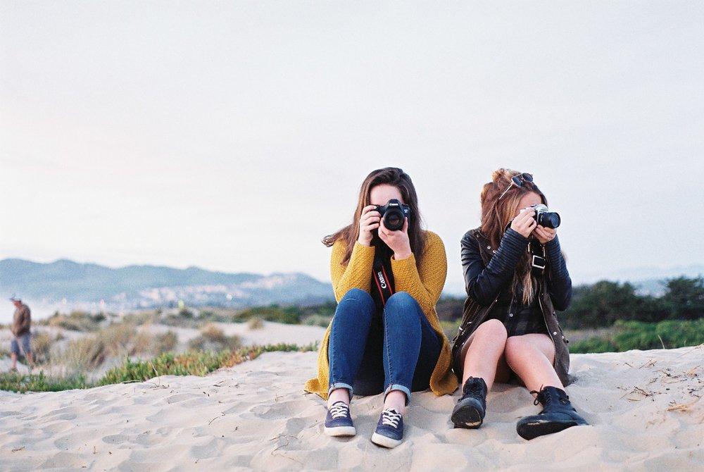 Syd Izzy Cameras Pismo Beach California Analogue Travel Photographer