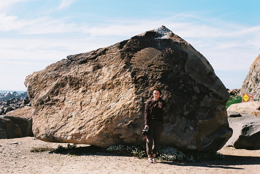 Syd Morro Rock California Analogue Travel Photographer