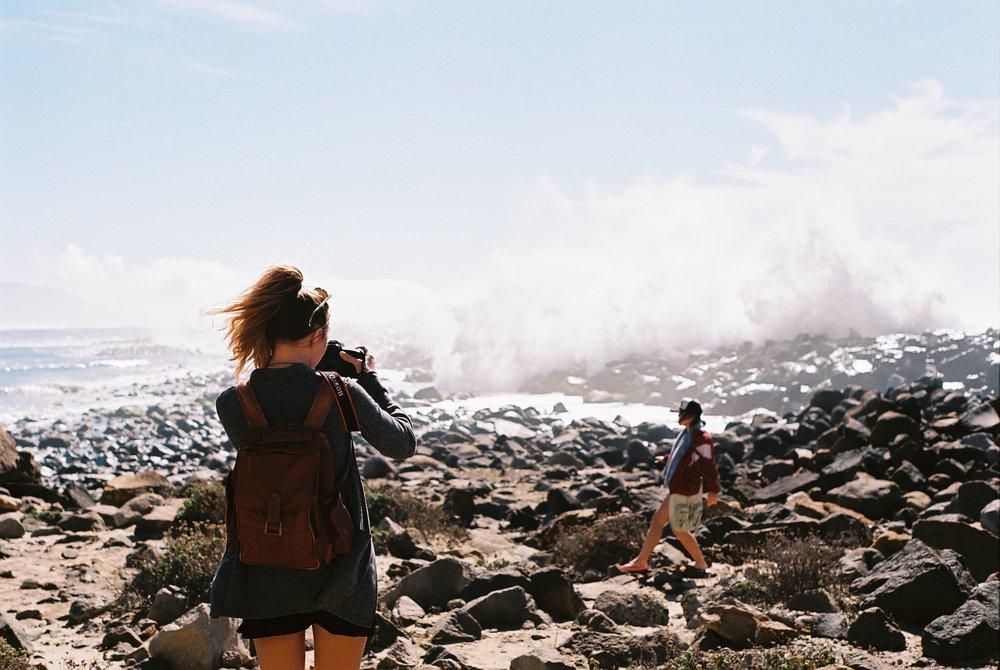 Izzy Morro Rock California Analogue Travel Photographer