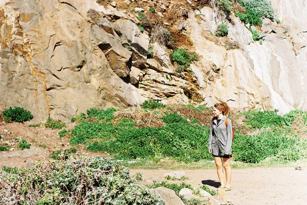 Izzy 2 Morro Rock California Analogue Travel Photographer