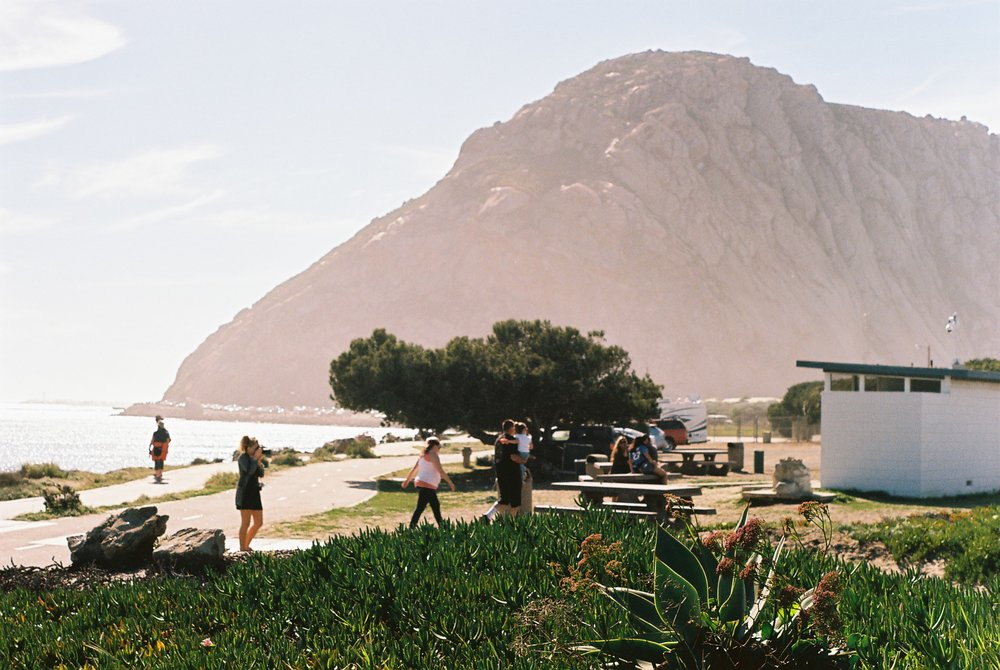 View 2 Morro Rock California Analogue Travel Photographer