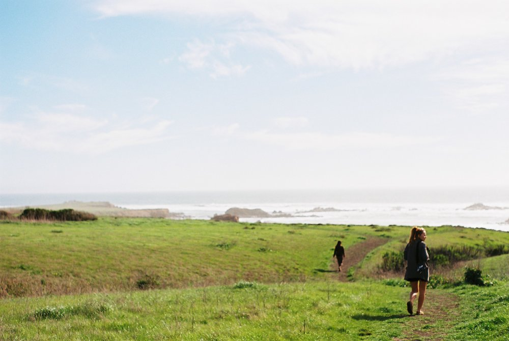 Walking Highway 1 California Analogue Travel Photographer