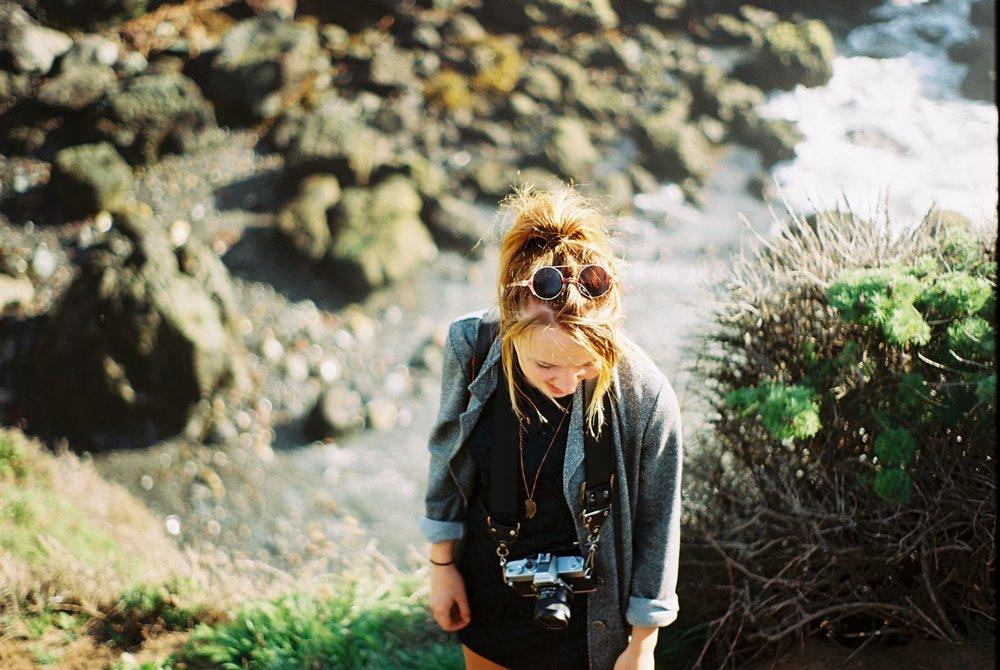 Portrait Highway 1 California Analogue Travel Photographer