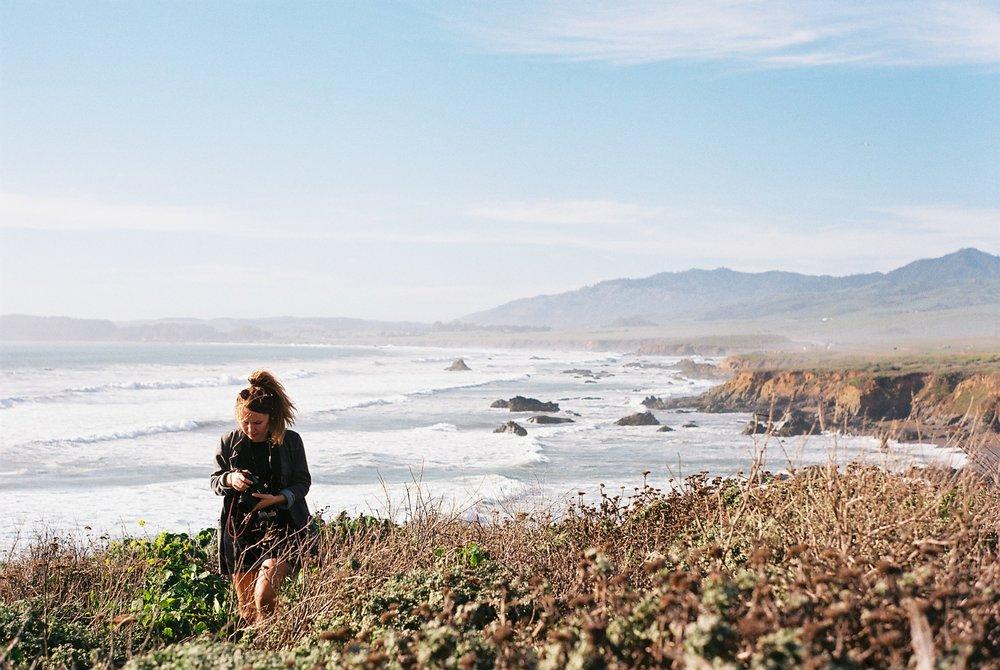 Izzy Wild Highway 1 California Analogue Travel Photographer