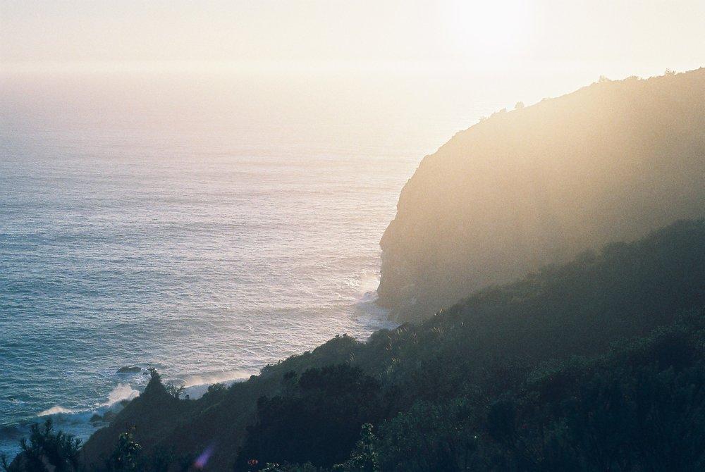 Cliffs Highway 1 California Analogue Travel Photographer