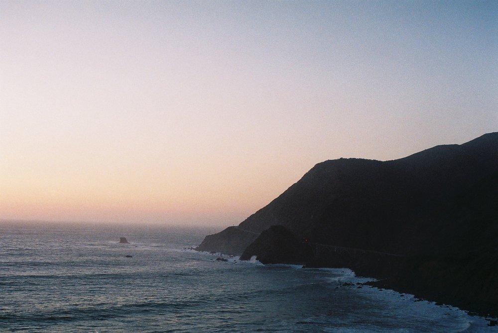 2 Coastline Highway 1 California Analogue Travel Photographer