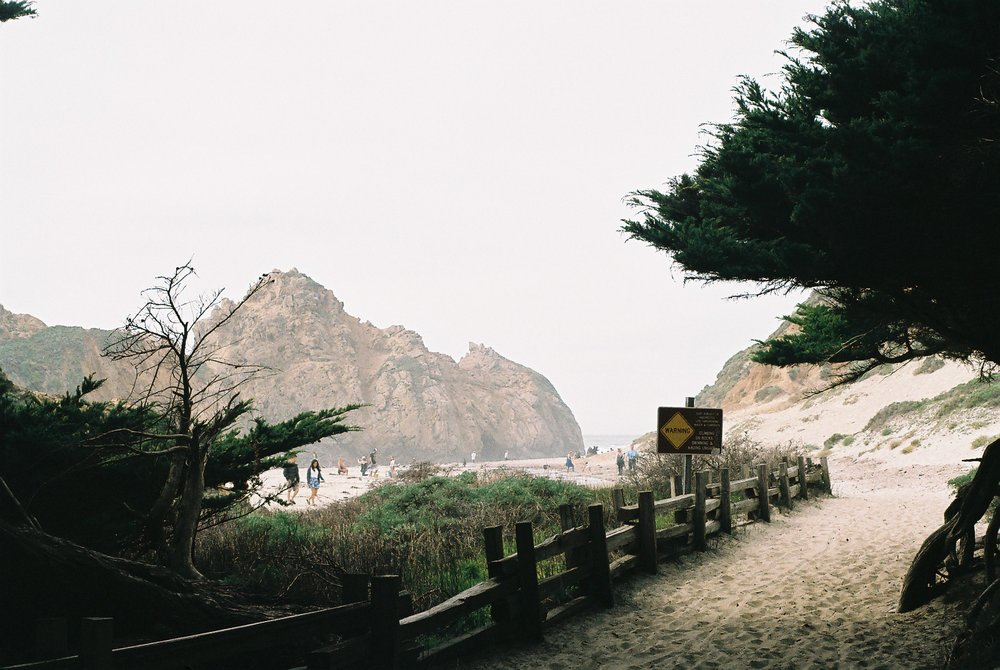 Pfeiffer Beach California Analogue Travel Photographer