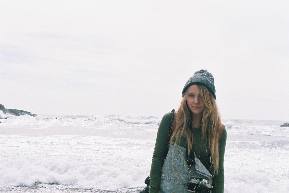 3 Izzy Portrait Pfeiffer Beach California Analogue Travel Photographer