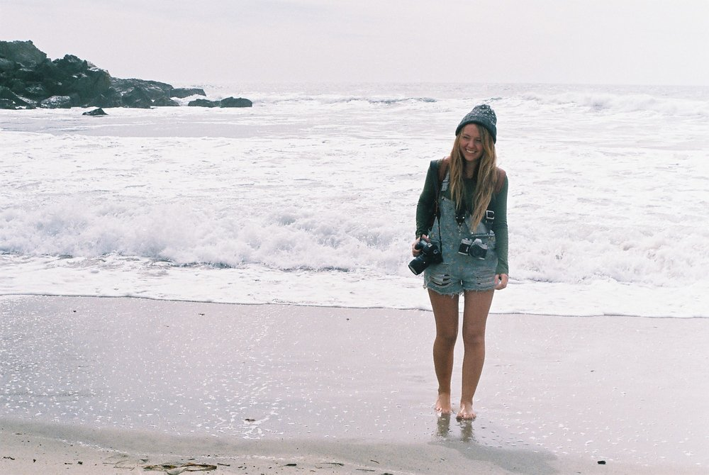 5 Izzy Portrait Pfeiffer Beach California Analogue Travel Photographer