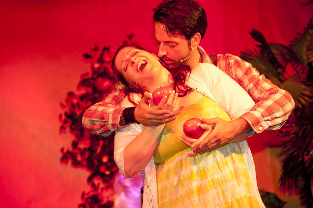Die Tagebücher von Adam und Eva, Neue Berliner Scala, 2013 (Copyright Sabine Münch), mit Gerd Achilles