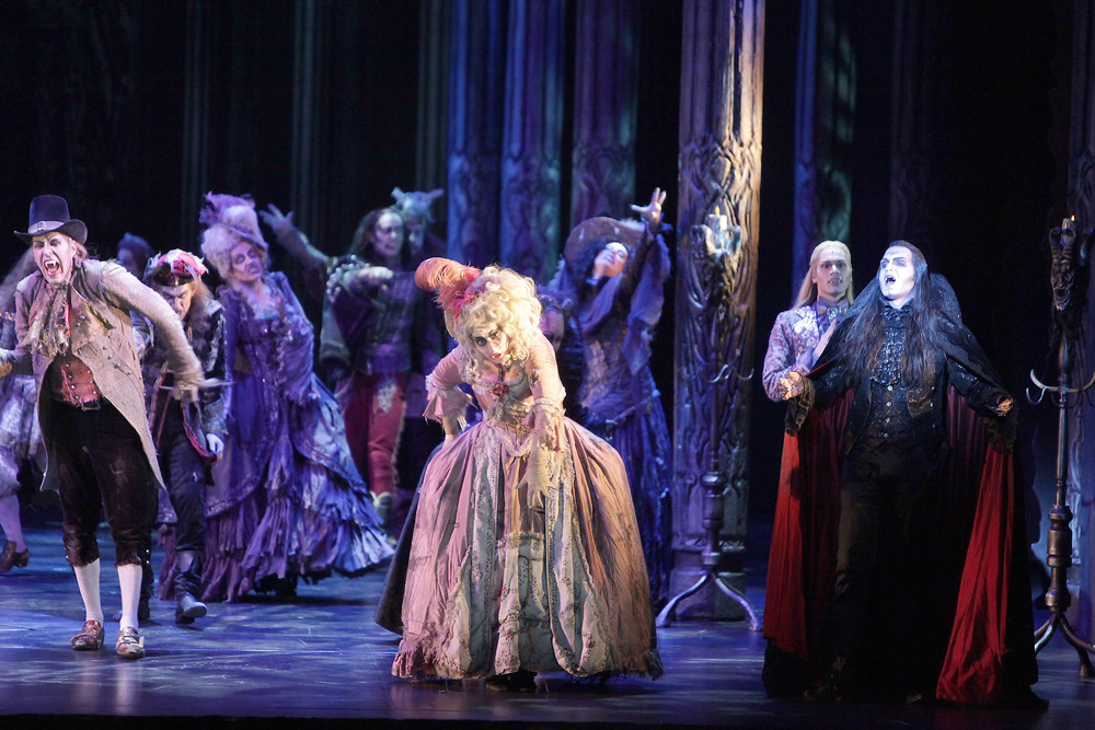 Tanz der Vampire, Ronacher Theater, Wien 2009 (Copyright Rolf Bock)
