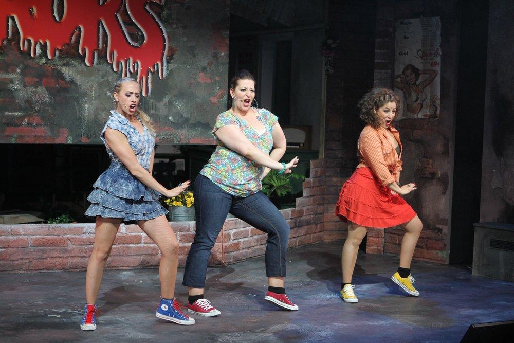 Der kleine Horrorladen, Veranstaltungsbetriebe Amstetten, 2012, mit Linda Hold und Ariana Schirasi Fard