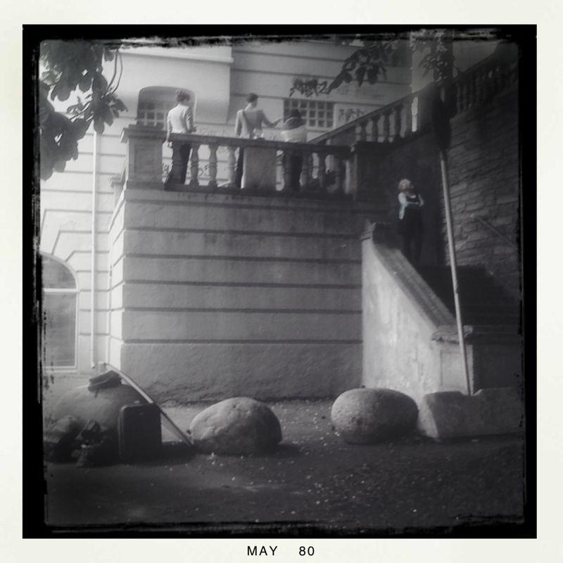 Assisting Evy Andersen's shoot of Kari Bremnes. :)