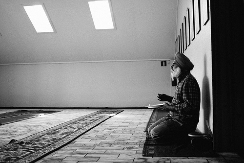 A couple of weeks ago at the Sikh temple in Alnabru, near Oslo, Norway.