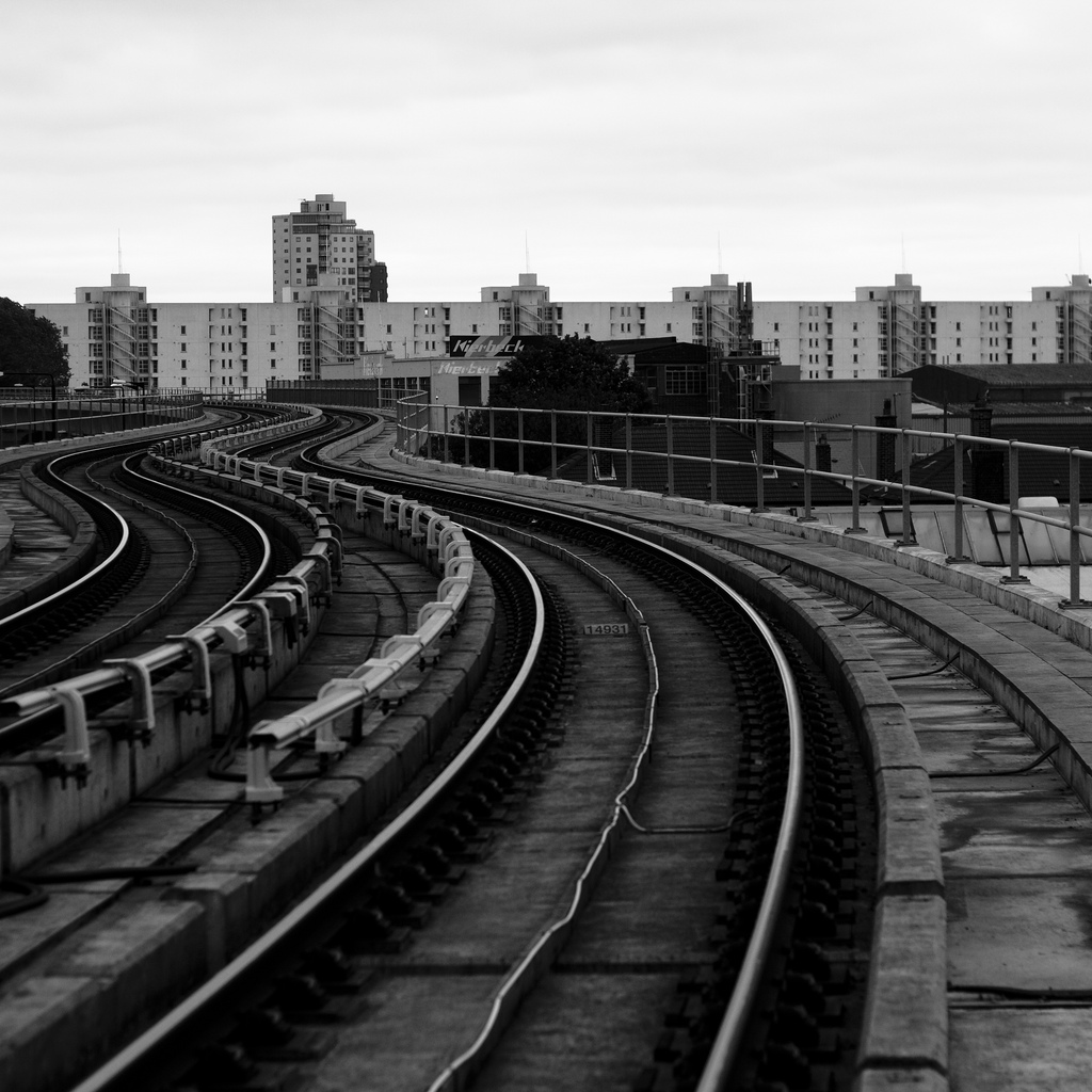 Exactly one year ago. West silverton DLR station, London, UK.