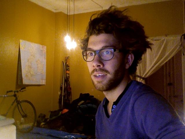 Got a big tarpaulin in my room to wash and fix my bike :) #thejoysofhavingabigroom
