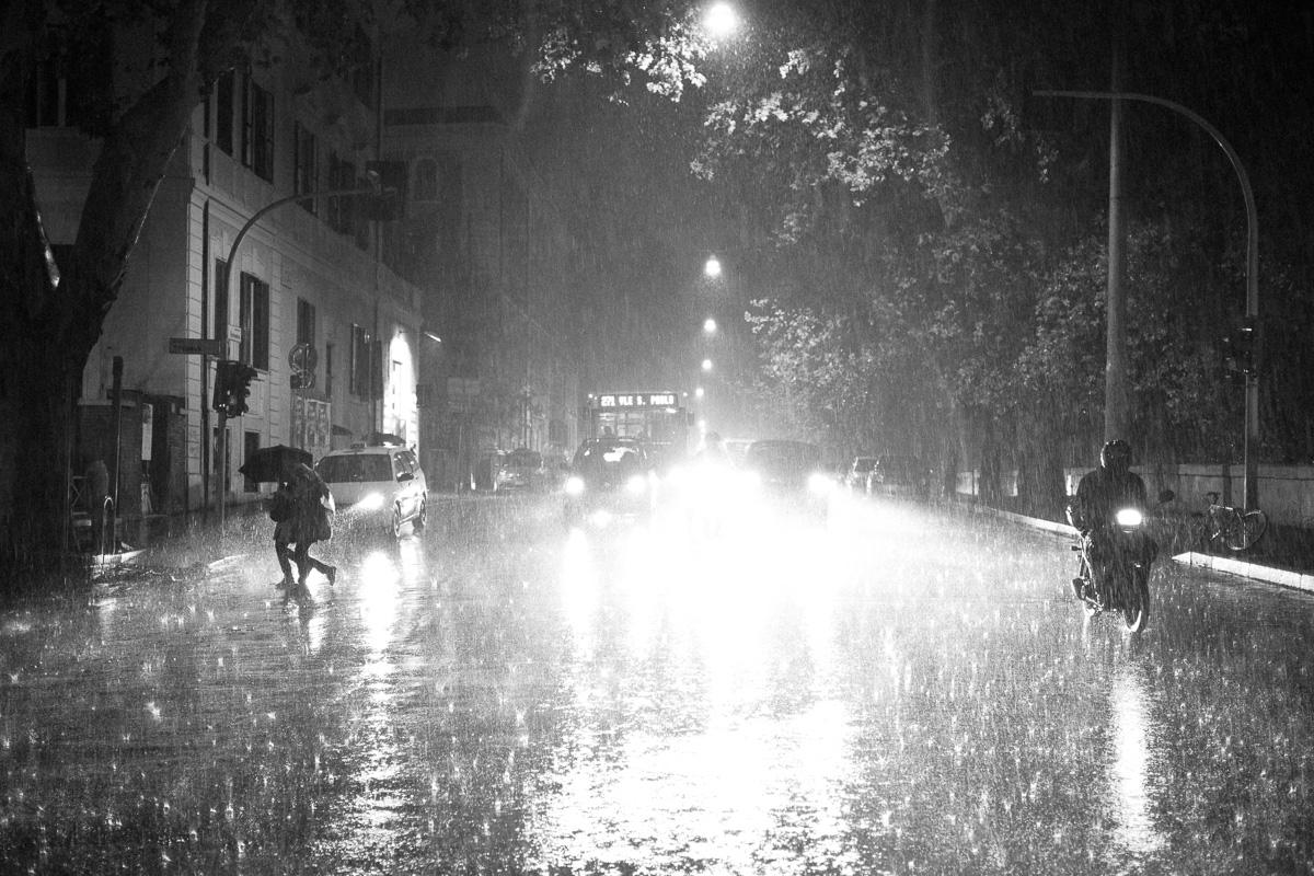 Rainy days in Roma, October 2012