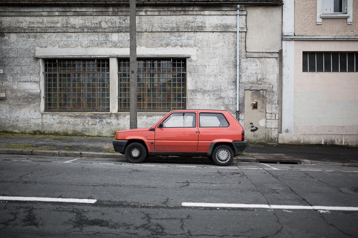 Along with the Lada Niva, the Fiat Panda is my favorite car. (Specially the 4x4 version.)