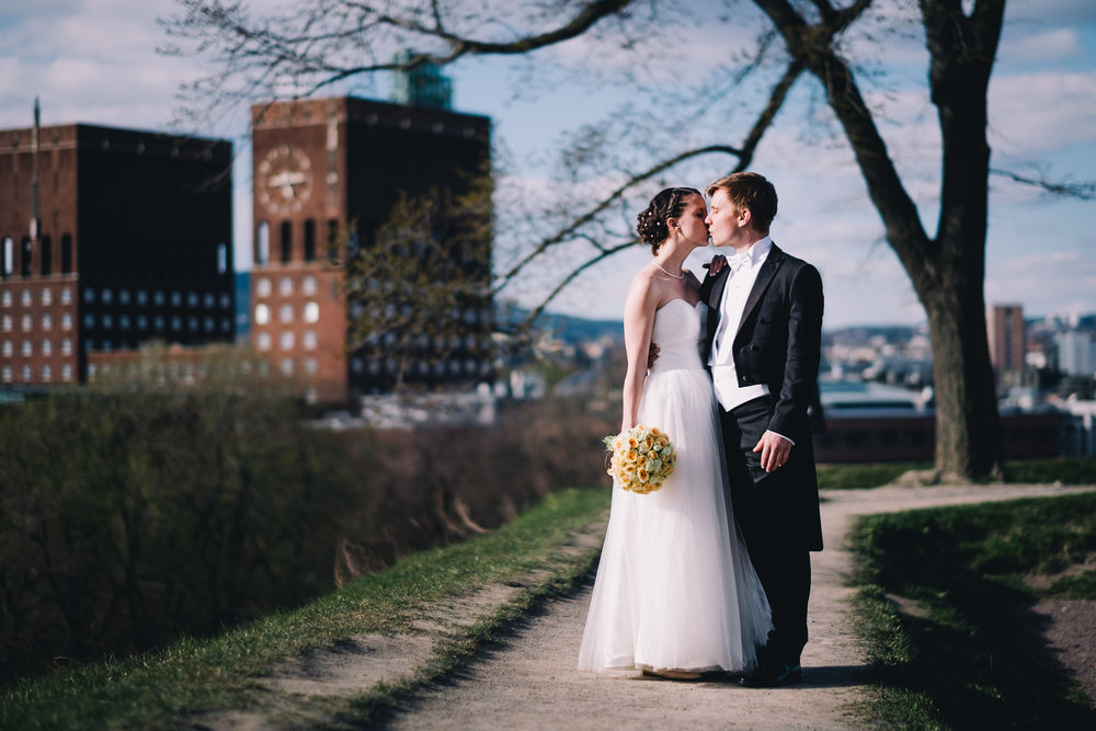 Chloé & Aslak - got married in the town hall in Oslo on april 29th 2017