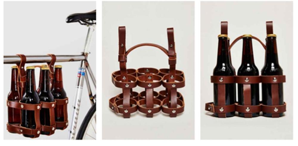 Leather Six Pack Caddy$59.95www.fyxation.com