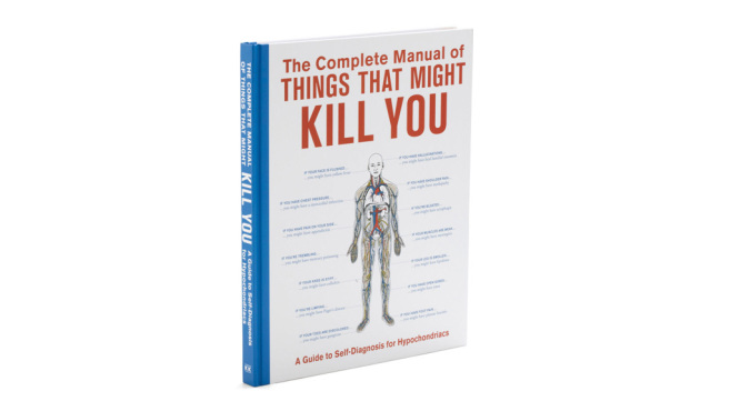 The Complete Manual of Things that Might Kill Youbook, $20, atalwaysfits.com