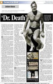 Artykuł nt. Ariberta Heim z dnia 06 lutego 2009 roku (źródło:  szdaily.sznews.com )