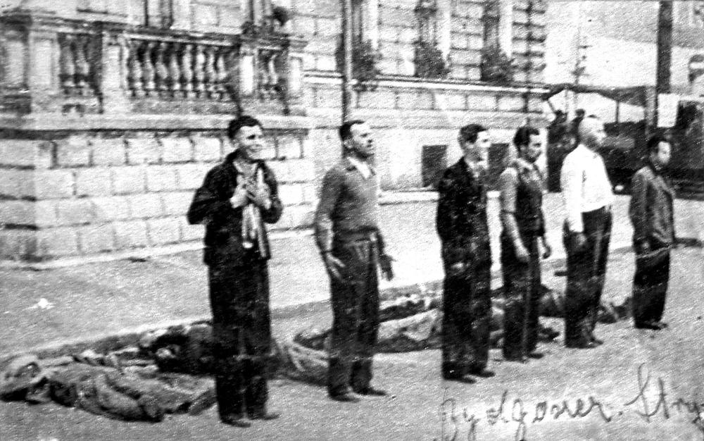 Egzekucja na Starym Rynku w Bydgoszczy (źródło:  http://www.visitkujawsko-pomorskie.pl/ )