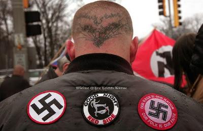 Niemiecki neonazista (źródło: studioopinii.pl )