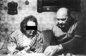 Kurt Franz z żoną, 1997 rok (źródło: http://deuxiemeguerremondia.forumactif.com/t10755p30-treblinka-histoire-plans-et-images )
