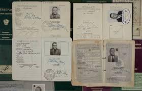 Passports Otto Skorzeny (source:  http://ww2-militarystore.yolasite.com/otto-skorzenys--unternehmen-eiche.php )