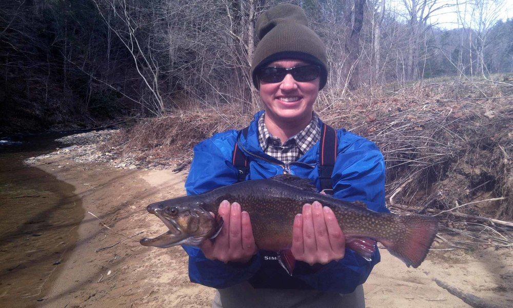 Copy of Fly Fishing in Pisgah National Forest