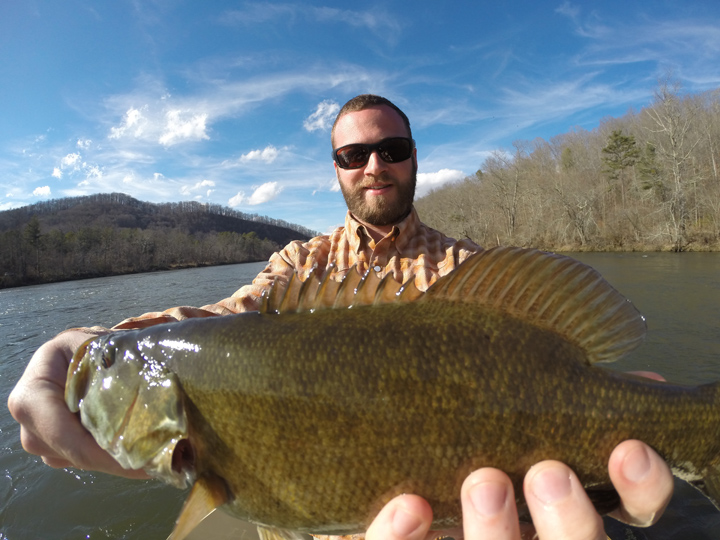 Spring fishing report fly fishing tours asheville for Nc bass fishing reports