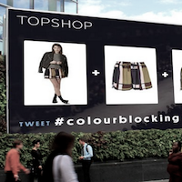 Topshop Twitter fashion week