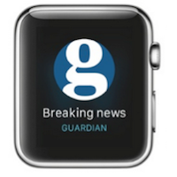 Guardian Apple Watch app