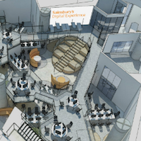 Sainsbury's open new digital lab to develop retail tech
