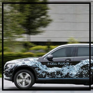 Daimler will launch the Mercedes-Benz GLC F-Cell hydrogen plug-in car before the year-end