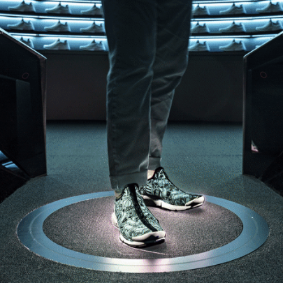 Nike unveils a new retail experience with custom footwear at its Nike By You Studio in New York