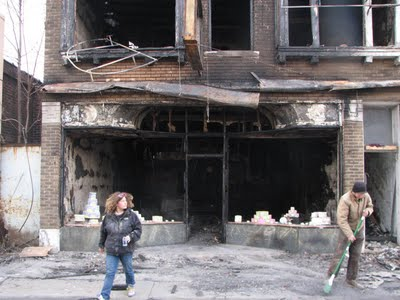 After the fire: van Dyke Pastry: .jpg