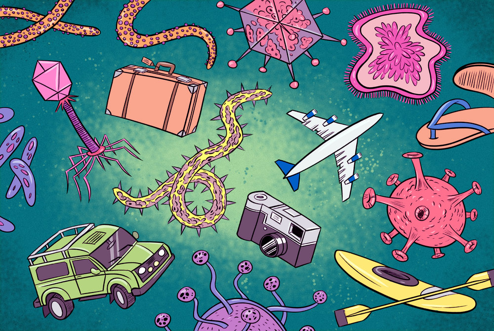The Worst Ailments to Get While Traveling